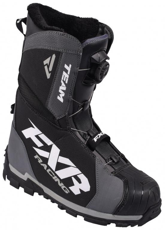 Снегоходные ботинки Fxr Team Boa Black Char купить по низкой цене в ... d41c1e7ce0d