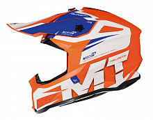Шлем кроссовый MT Falcon Weston MX802, Gloss Pearl Fluo Orange