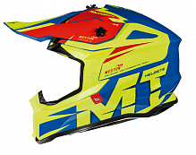 Шлем кроссовый MT Falcon Weston MX802, Gloss Fluo Yellow