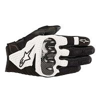 Мотоперчатки Alpinestars SMX-1 Air V2 Gloves, черно-белый