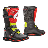 Ботинки детские Forma Rock Black/Red/Yellowfluo