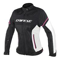 Куртка женская текстиль Dainese Air Frame D1 Lady Tex Jacket - Black/Vaporousgray/Fuxia