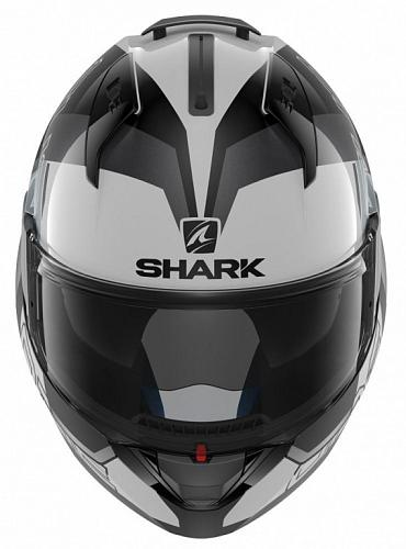 Шлем модуляр Shark Evo-One 2 Slasher, бело--черный L