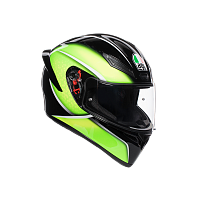 Шлем AGV K1 Qualify Black/Lime
