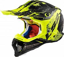 Кроссовый шлем LS2 MX470 Subverter Claw, Matt Black Hi-Vis Yellow