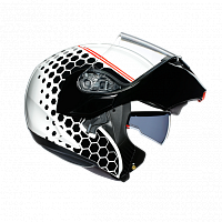 Шлем AGV Compact ST E2205 Multi - Detroit White/Black