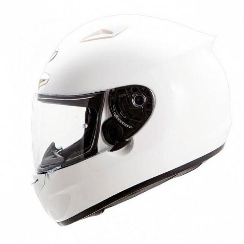 Шлем интеграл МТ Matrix Mono Gloss White S